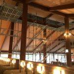 公共施設改修用足場工事 千葉県浦安市 2015年12月