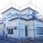 一般住宅塗装用足場工事 千葉県館山市 2016年2月